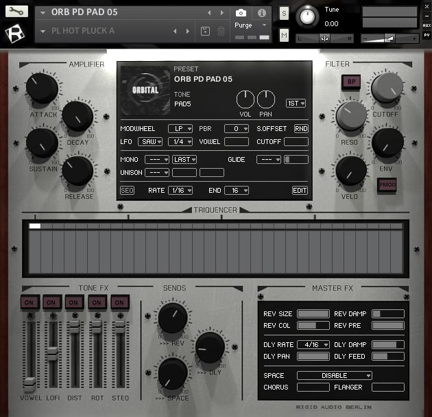 Rigid Audio - ORBITAL | Kontakt