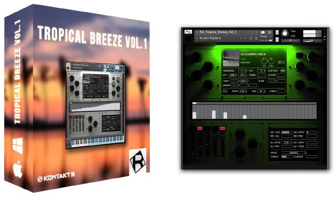 Rigid Audio | KONTAKT INSTRUMENTS | PRODUCTS | TROPICAL BREEZE VOL 1
