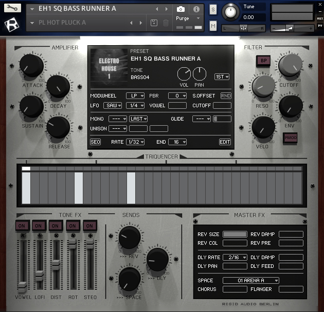 Rigid Audio - Berlin Electro House Vol.1 | Kontakt